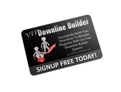 VIP Downline Builder System - Free to Join
